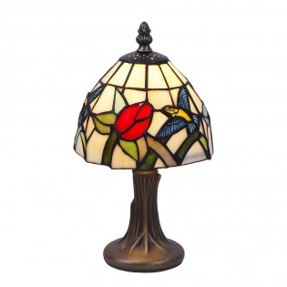 Lámpara de mesa Colibri Mini Tiffany