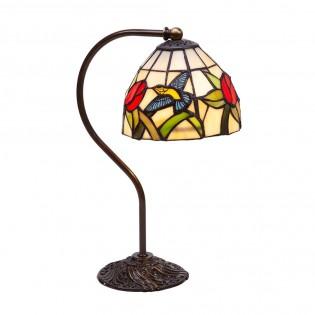 Lámpara de mesa Colibri Tiffany
