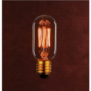 Light Bulb filaments tube shaped