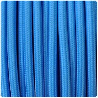 Cable textil blue