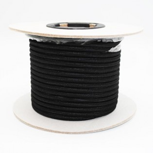 Cable roll textil black