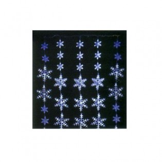 Christmas Curtain Lights LED flakes