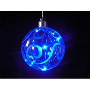 Glass ball light LED blue