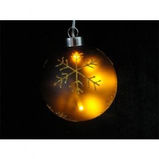 Glass ball light LED star