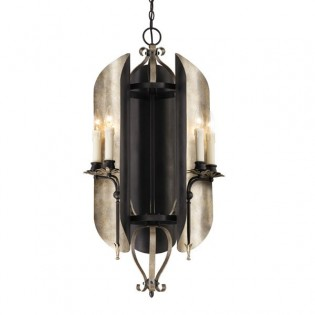 Rustic Pendant light Amiena (6 lights)
