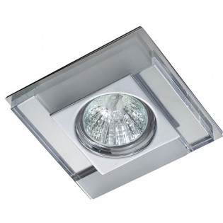 Kit Recessed light LUXOR white mirror