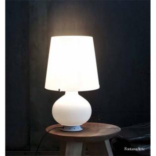 Table Lamp FONTANA white