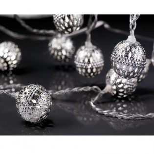 String lights 8 balls led diamond